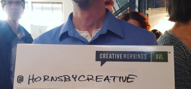 Morning confessions at Creative Mornings