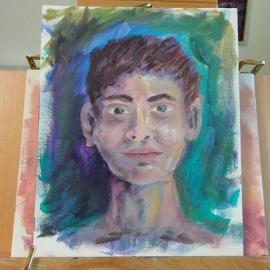 Another quick art portrait