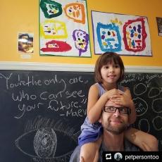 The children are the future.