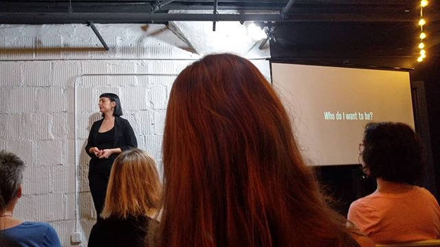"""Small acts of intention are the infrastructure of a life well lived."" This @asheville_cm talk by Nicole McConville sharing her experience as an introvert really resonated with me. 🙏🙏🙏 Especially as I'm working on my talk for this year's @wordcampasheville on Sales and Customer Service for the Introverted Designer"