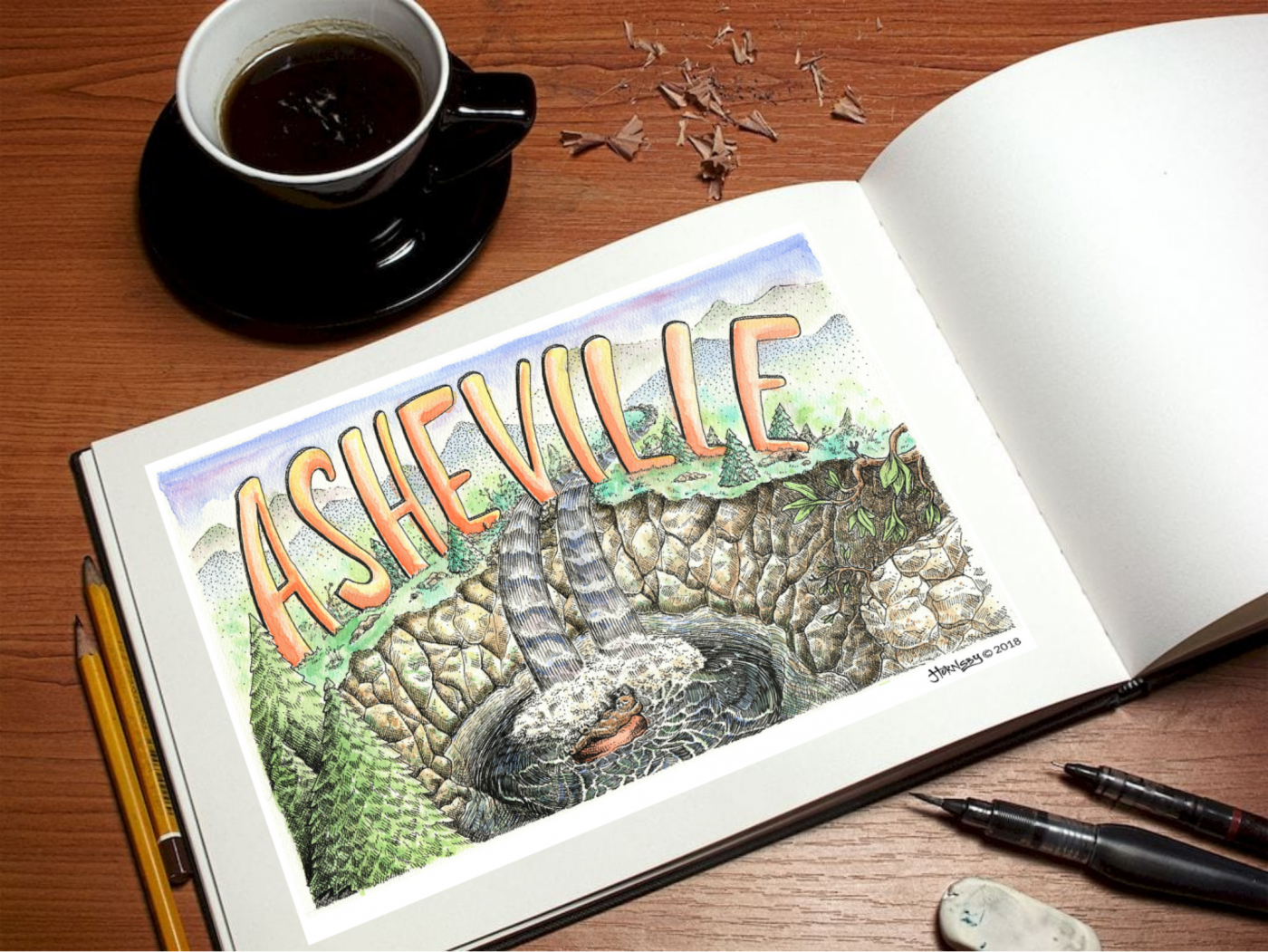 asheville design illustration & art