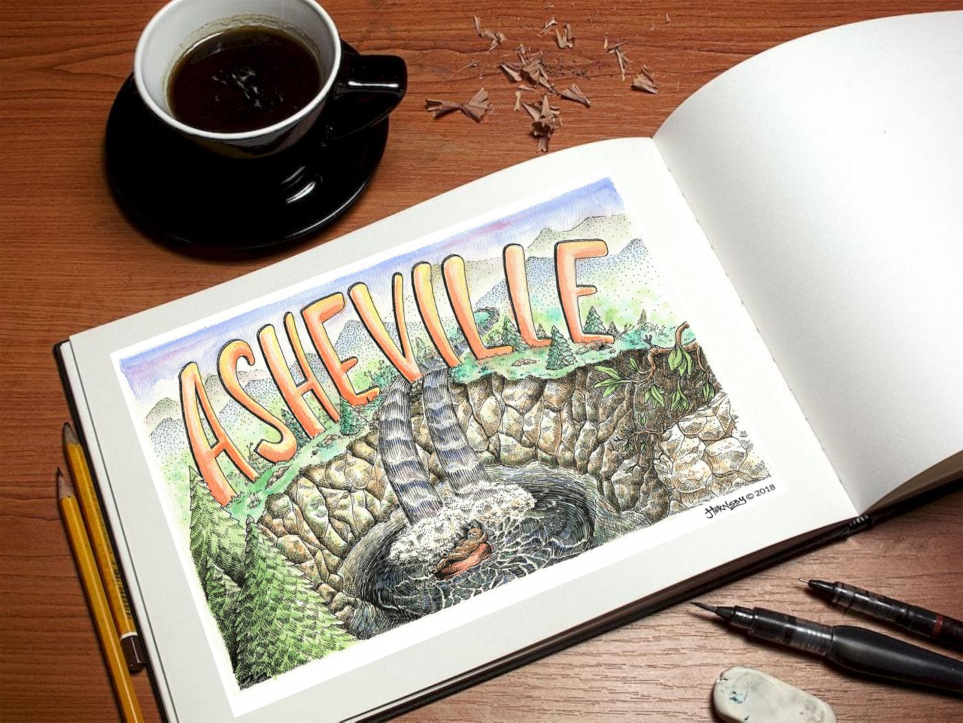 asheville design illustration & art