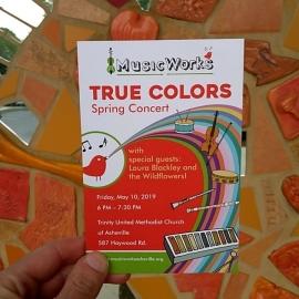 MusicWorks True Colors Poster