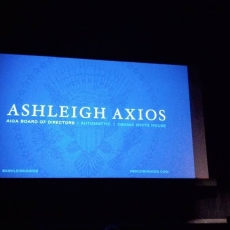 Inaugural AIGA Asheville event with Ashleigh Axios a huge success.