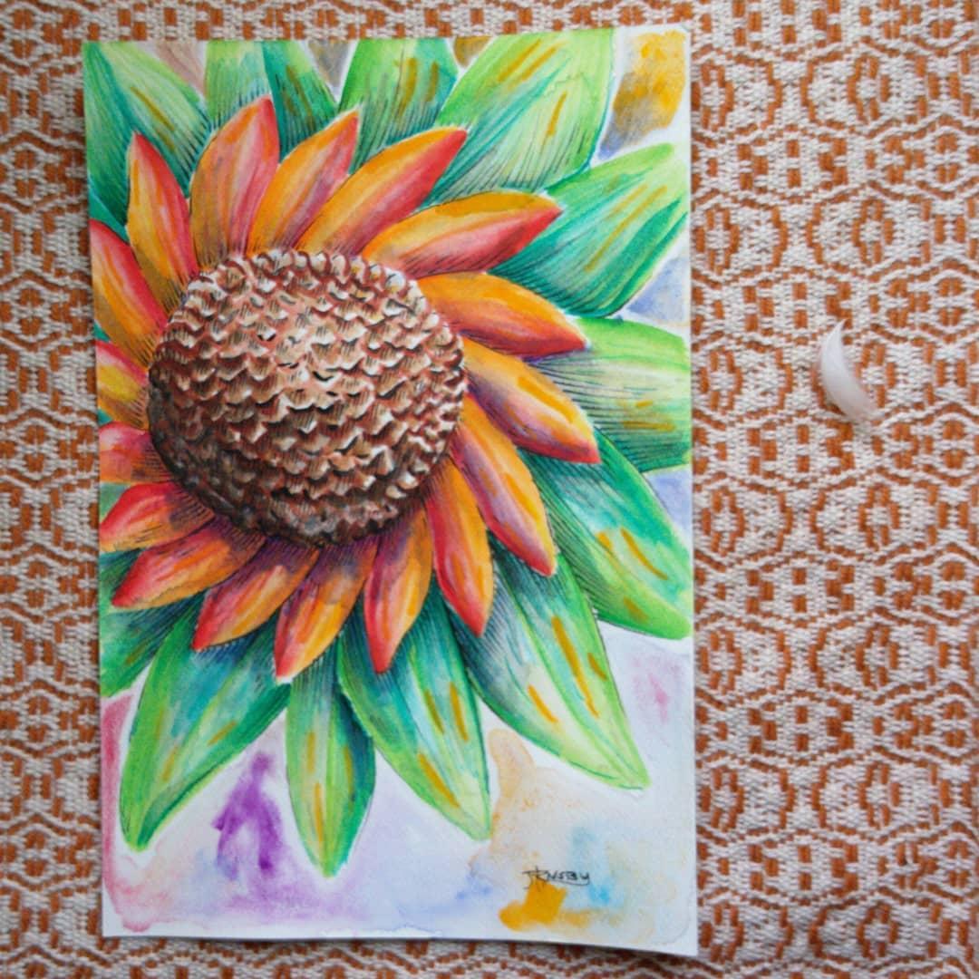 A little Sunday sunflower