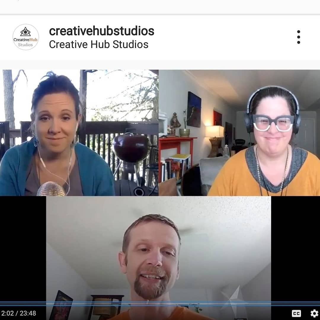I recently had the opportunity to sit down with @creativehubstudios and discuss my perspective on the current state of affairs. I really enjoyed spending time with these two fellow creatives and awesome community members.  Link in bio